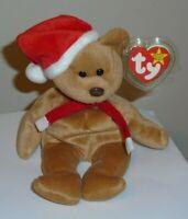 Ty Beanie Baby - 1997 HOLIDAY TEDDY the Bear (8.5 Inch) MINT TAGS