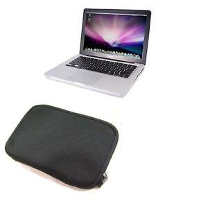 """FUNDA DE NEOPRENO bolsa con cremallera para MacBook Air 11 pulgadas 11.6"""" negra"""