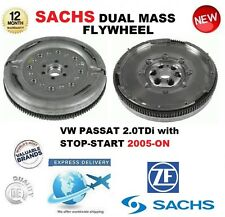 FOR VW PASSAT 2.0 TDi with STOP START 2005-ON SACHS DMF DUAL MASS FLYWHEEL