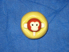 Monkey Head Silicone Push Mold #1a For Resin Craft Candy Chocolate Wax Clay