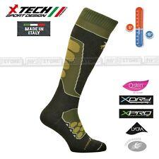 Calze Termiche Tecniche X-TECH SPORT RAPTOR Q-SKIN Thermo Socks Made in Italy OD