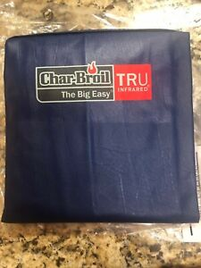 NEW  Char-Broil The Big Easy Smoker, Roaster & Grill Cover RARE NAVY COLOR