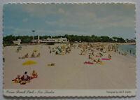 New London Connecticut Postcard Ocean Beach Park (d137)