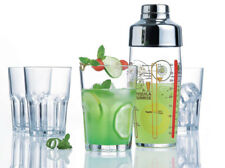 drinkset Samba Agitador 580ML + 4 Gafas 400ml LUMINARC