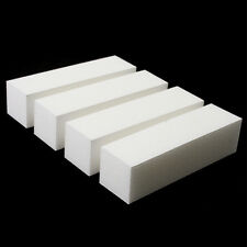 10 x White Nail Art Buffer Buffing Sanding File Block For Manicure Pedicure