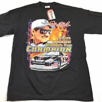 NWT Chase Authentics Vtg 2001 Dale Earnhardt 7-Time Nascar Winston Cup Champ Tee
