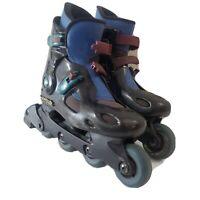 (Read Desc.) Rollerblade Spirit blade Vintage Inline Skates Sz 9 Black Mens