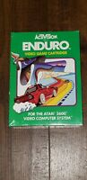 Enduro Atari 2600 Activision 1983 Brand New, ENDURO! Can You Endure?