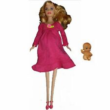 Educational Real Pregnant Doll Suits Mom Have A Baby In Her Tummy Barbie Play G