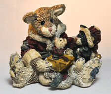 Boyds Bears: Cookie The Cat - #2237 - First Edition 1E/ 1671 - Love & Joy