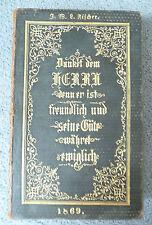 Schwarzburg-Rudolstädtisches Gesang-Buch Für die öffentliche und häusliche And.