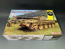 DRAGON 6940 1/35 Sd.Kfz.171 Panther Ausf.D & Pantherturm (Included Magic Track)