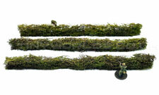 """Wargames Hedges 28mm Ready to Play 1"""" Bolt Action WW2 20mm 1/48 1/72 Model Scale"""
