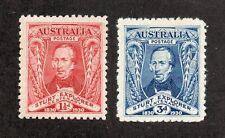 Australia - SG# 117 & 118 MH    /   Lot 05202355