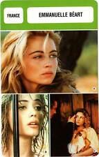 FICHE CINEMA :  EMMANUELLE BEART -  France (Biographie/Filmographie)