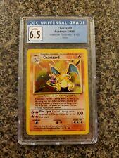 Charizard Pokémon Base Set Unlimited - 4/102 - CGC 6.5
