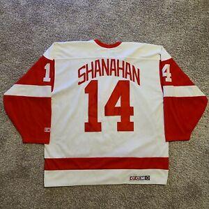 CCM Brendan Shanahan Detroit Red Wings NHL Hockey Jersey, Size XL