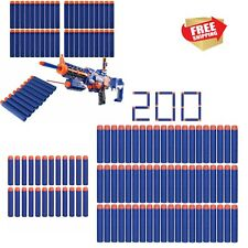 200pcs Foam Dart Refill Soft Bullets Darts for Nerf N-strike Elite Kid Toy Guns