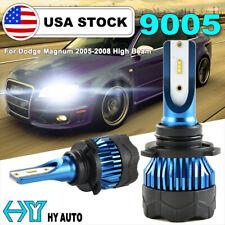 9005 Hb3 Led Csp 72W 8000Lm Headlight High Beam Bulb For Dodge Magnum 2005-2008(Fits: Neon)