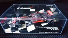 Minichamps 1/43 Fernando Alonso McLaren Mercedes 2007 Ltd Edn #1