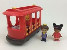 Daniel Tiger Neighborhood Pull-Back Trolley Toy w  Figures Fred Rodgers  Company 6d9db5b76