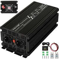 Inverter Onda Sinusoidale Modificato Convertitore 3000W 6000W DC 12 V a AC 230V