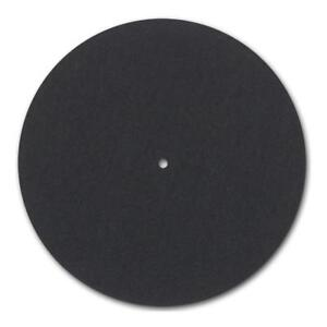 """Pro-Ject 12"""" Felt Mat - Black. For most Project Turntables. DECO"""