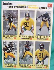 McDonald's 1993 Gameday complete football card set