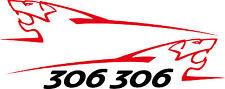 Stickers autocollants kit peugeot sport lion 306