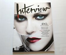 Kristen Stewart Interview Magazine 40th Anniversary Issue Oct/Nov 2009 New
