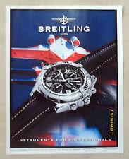 C315-Advertising Pubblicità-1998- BREITLING CROSSWIND