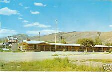 OLD PHOTO POSTCARD Montpelier Idaho VIR-DAY MOTEL 1959