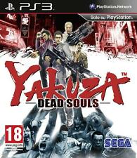 YAKUZA DEAD SOULS GIOCO NUOVO PER SONY PLAYSTATION 3 PS3 VERSIONE UK PS3021204