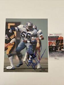 Thomas Hollywood Henderson Signed 8 x 10 Photo JSA COA Dallas Cowboys ProLook