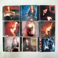 BONNIE RAITT - Bundle Lot of 9 CDs! - FREE Shipping
