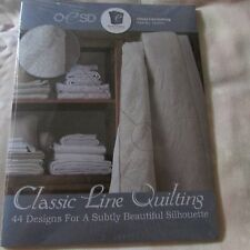 OESD Classic Line Quilting Embroidery Design cd NIP
