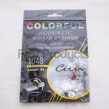 Acoustic Guitar Strings - Coloured Acoustic
