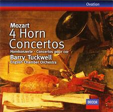 Mozart 4 Horn Concerts, Hornkonzerte, Tuckwell, English Chamber, wie neu, top