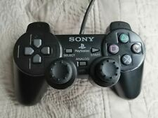 Official PlayStation 2 (PS2) Black Sony DualShock 2 Dual Shock 2 Controller