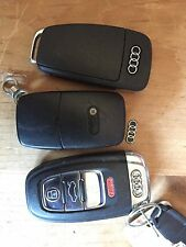 Audi Keyless Entry Remote Key Fob Sticker Emblem A4 A3 Q7 A8 A6 Metal logo Only