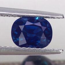 1.39CT RAVISHING VVS UNHEATED UNTREATED OVAL BLUE SAPPHIRE NATURAL