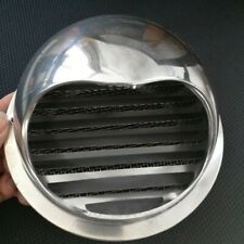 Silver Exhaust Vent Cover Ducting Fan Hemisphere Shape Stainless Steel Tools