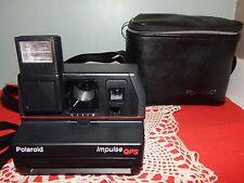 Polaroid Impulse QPS Instant Film Camera w/ Strap and Original Case!  EUC