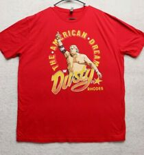 Next Level Apparel Adult XXL 2XL Red Dusty Rhodes Graphic T-Shirt Mens