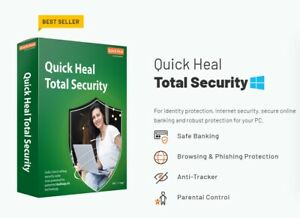 Quick Heal Total Security Regular - 2 PCs , 1 Year (Free Email Delivery