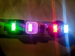 USB LED Ambiance lights, perfect for cars, office space, or night lights
