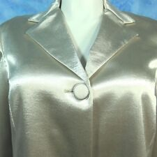 CHICO'S 3 XL Soiree Shine Laraina Sparkling Gold Holiday Cruise Evening Jacket