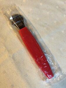 FitDio Pedicure Pro Callus Scraper Remover - Red - New