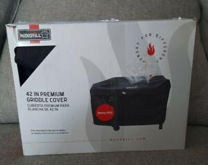 "NexGrill 42"" Premium 2 Burner Griddle Cover 43.7"" x 20.5"" x 28.7"" New Flawed Box"