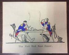 "The First West Point Dinner 8"" X 10"" Art Piece Print US Army Historic Memorbilia"
